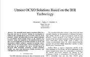"2012 International Frequency Control Symposium, USA. Title of the report ""Utmost OCXO Solutions Based on the IHR Technology"""